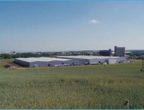 Novostavba skladové haly CANDY II.etapa Podbořany