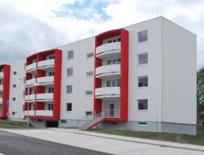 Výstavba bytového domu L2 – Zahradní město Louny