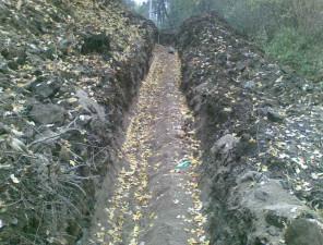 Výstavba Bořislav, Bílka - kanalizace